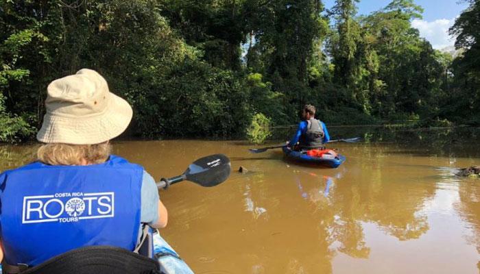 Tour en kayak